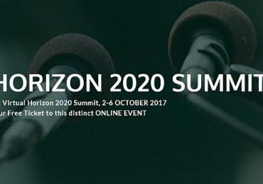 Μάθε από τους 30+ καλύτερους πως να πετύχεις στο Horizon 2020 - Δωρεάν Συμμετοχή στο 1ο Virtual Συνέδριο του Horizon 2020 (2/10 έως 6/10)